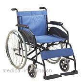 AGST003 Heavy duty wheelchair with double cross bar