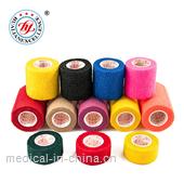 Large size latex free OEM offered sports nonwoven cohesive bandage
